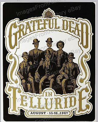 16x20 Poster Jerry Garcia The Grateful Dead Telluride Colorado 1987 # Grd