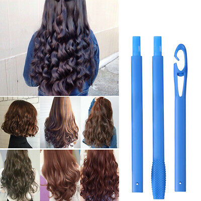 55CM Lady Long Hair DIY Magic Hair Curlers Rollers Spiral Ringlet Hairband Tool
