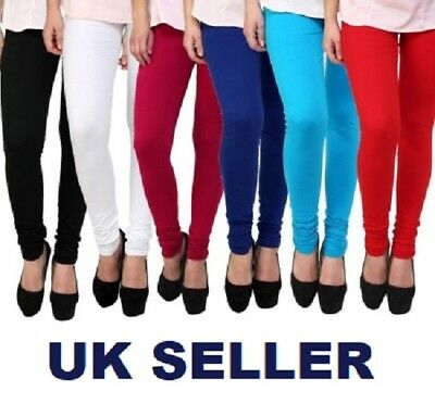 Womens thick warm cotton full length leggings UK size 6-22 & all colours *CTnLgs