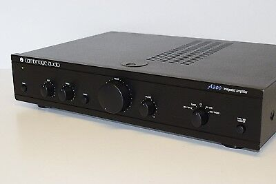 Cambridge Audio A300 Stereo Integrated Amplifier Hi-Fi Separate 50 WATTS/PRE-OUT