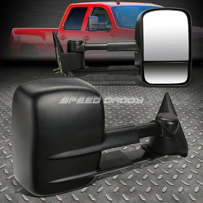 For 88-98 Chevy/gmc C/k Series Truck Extendable Arm Rear View Towing Mirror Pair