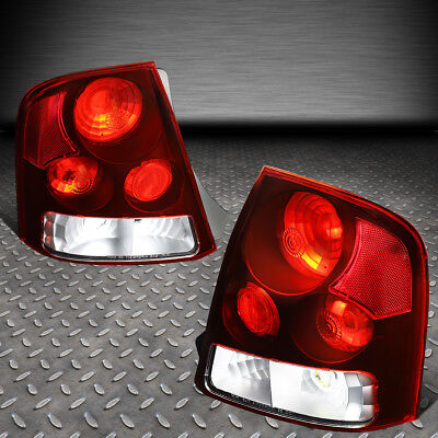 For 99-03 Mazda Protege Pair Red Lens Tail Light Brake/parking/reverse Lamps