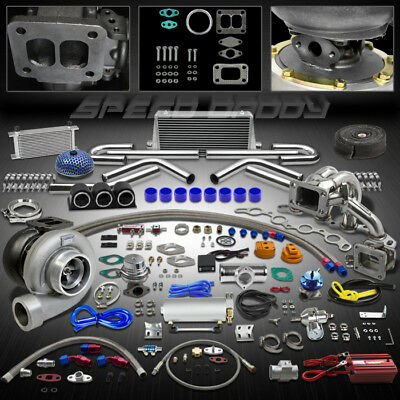 Gt45 25P Turbo Kit Turbocharger+Manifold+Intercooler 85-89 Mr2/-91 Corolla 4A-Ge