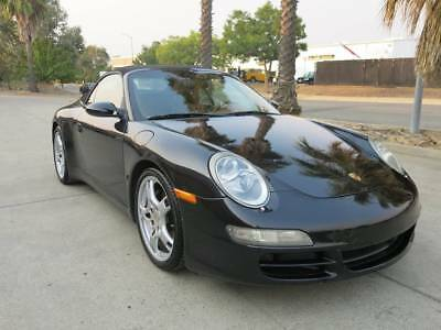 2006 Porsche 911 Carrera-4 Convertible 3.6L V6/6Speed Manual 2006 Porsche 911 Carrera 4 Convertible salvage damaged wrecked rebuildable 06