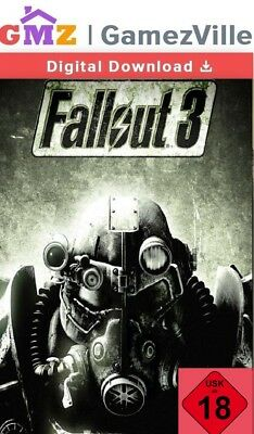 Fallout 3 Steam Key PC Digital Download