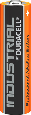 10 X Duracell AA Industrial Battery MN1500 Alkaline  Expiry 2024  In Bulk Pack