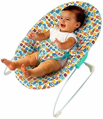 Bright Starts Sunny Delights Infant Baby Bouncer Kids Reclining Rocker Chair