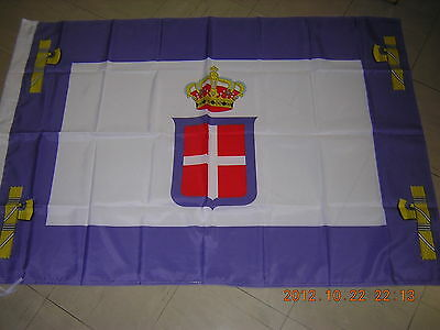 Italy Flag Standard of the Viceroy of Italian East Africa 1934-1943 Ensign 3X5ft