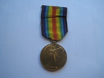Ww1 Victory Medal,albert James Richards, Royal Air Force,from Rugby