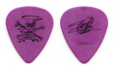 Slash and the Conspirators Slash Signature Purple Guitar Pick - 2010 Tour GNR