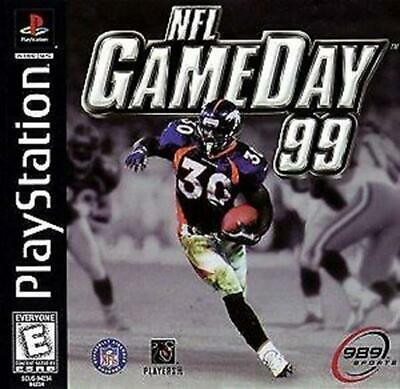 NFL GameDay 99 Game Original Sony PlayStation 1 game 100% Authentic Tested