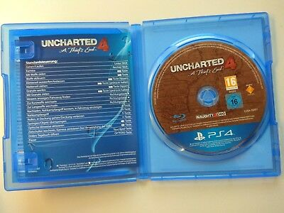 Uncharted 4: A Thief's End Spiel PS4