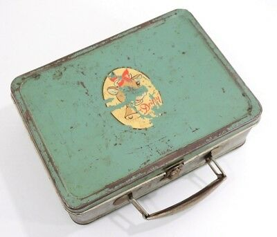 Vintage RARE Metal Lunchbox - Mid Century Drifty the Cow, Driftwood Dairy