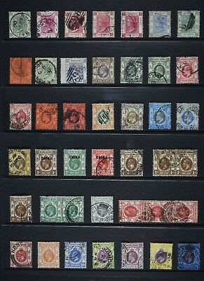 Hong Kong, QV - QEII, a lovely collection of used and MM stamps for sorting.