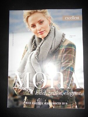 Mona Excellent Katalog Lookbook Herbst Winter 2018 Catalog
