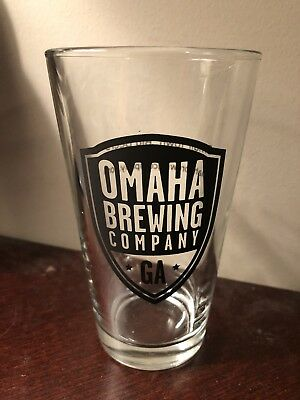 Omaha Brewing Company GA Pint Glass
