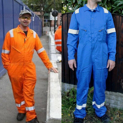 Faithful Royal Blue Nomex Inherently Flame Fire Retardant Nordic Boilersuit