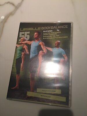 Les Mills Body Balance 55 Instructor Kit - DVD and CD