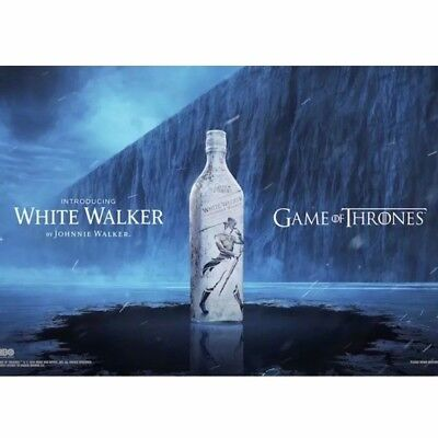 White Walker By Johnnie Walker Game Of Thrones Limited Edition Hbo New