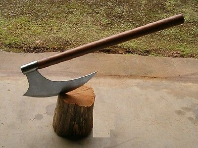 """27"""" Medieval Large Blade Edge Viking Battle Axe, Medieval Weapon, Free Shipping"""