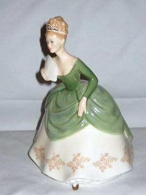 """SOIREE"" Royal Doulton England Bone China Lovely Lady Doll Figurine HN 2312"
