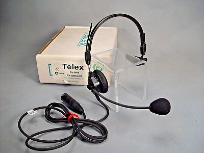 Telex PH-88R5 single muff light weight headset PH-88 five pin male xlr RTS