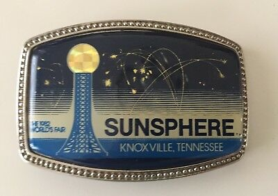 "1982 WORLD'S FAIR...""SUNSPHERE""...Belt Buckle..."