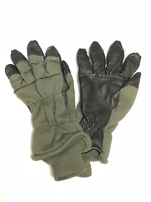 Us Military 9 M Men's Gloves Flyers Intermediate Cold Weather Flame Resistant Vg