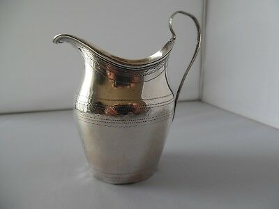 George 111 Silver Cream Jug For repair London 1798 Joseph Hardy & Thomas Lowndes