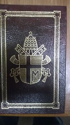 "Easton Press ""crossing The Threshold Of Hope"" Pope John Paul Ii Leather Bound"