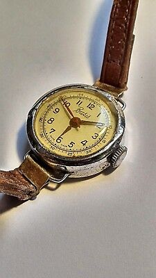 Vintage Basis Swiss Made Watch In Very Good Working Condition