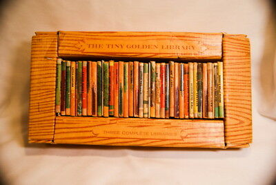 1950 Tiny Golden Library Book Set Disney Fairytales