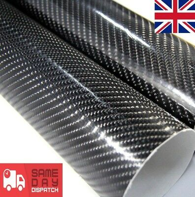 5 Diagonal Carbon Fibre Vinyl Wrap Sheet Film Sticker Car wrap air Bubble Free