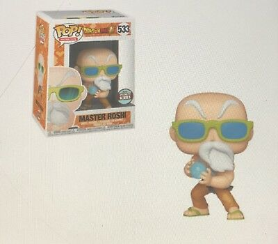 Funko Pop! Master Roshi *Specialty Series* Dragon Ball Z Presell Limited
