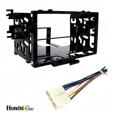 Metra 95-7801 Car Stereo Double Din Radio Install Dash Kit & Wires for Honda