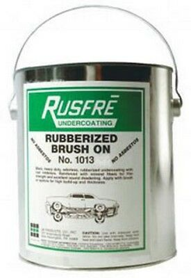 Brush-On Rubberized Undercoating, 1-Gallon RUS-1013 Brand New!