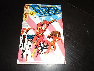 THE FLASH #51 Wally West DC Comics (2nd Series 1988)