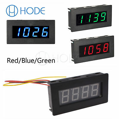 8-15V LED Digital Frequency Tachometer Car Motor Speed Meter RPM 5-9999R/M UK