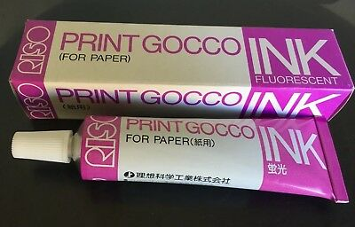 NEW RISO Print Gocco Hi mesh SILVER INK for paper Screen printer