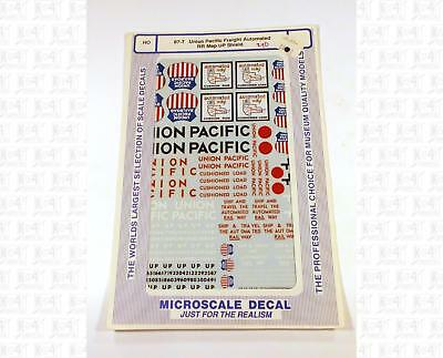 Model Railroad Roman Letters /& Numbers White Microscale Decals 50001 O Scale