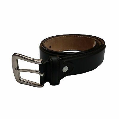 Laramy Boys Bonded Leather Belt With Round Buckle Kids - Brown Formal Casual