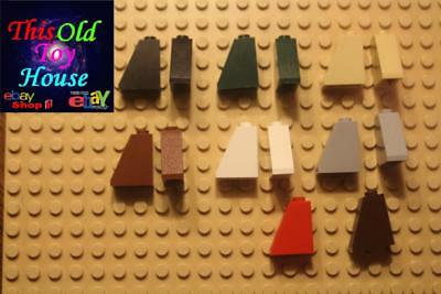 LEGO 47759 ROOF TILE 4X2 ANGLED SLOPED BOTTOM CHOICE OF COLOR pre-owned