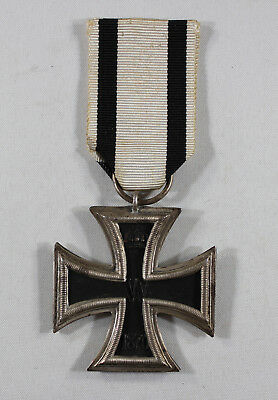 Imperial German Pre World War I 1870 2nd Class Iron Cross – Ring Marked 800