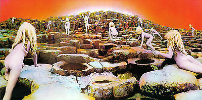 LED ZEPPELIN Houses Of The Holy Album Cover Print JIMMY PAGE ROBERT PLANT