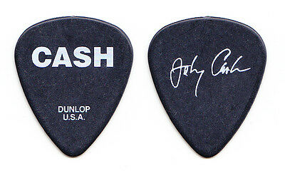 Johnny Cash Signature Black Promotional Guitar Pick