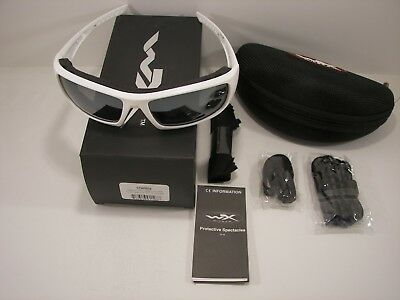 2929262141e Wiley X CCKNI07 Knife Matte Black Emerald Polarized Sunglasses New  Authentic rl.  109.95 Buy It Now 15d 20h. See Details. Brand New Wiley X  Arrow  CCARR04 ...