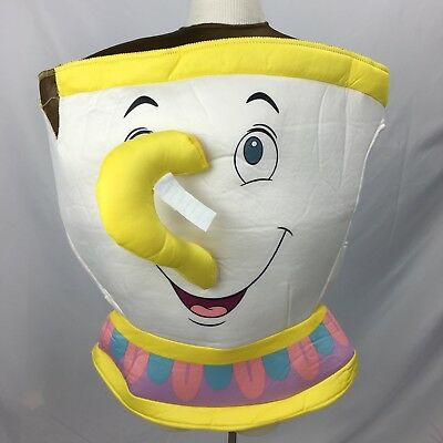 Disney Beauty and the Beast Child's Chip Tea Cup Foam Halloween Costume Up to 6