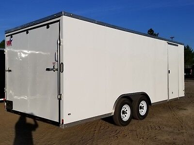 8.5x20 Enclosed Cargo Trailer V NOSE 22 Utility Car Hauler 8 Motorcycle Box 2019