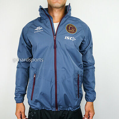 Brisbane Broncos 2018 NRL Wet Weather Jacket (Sizes S - XL) *BNWT* ON SALE NOW!
