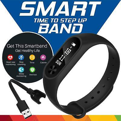Smart Watch Band M2 Bracelet Heart Rate Fitness Tracker Sleep Monitor Waterproof